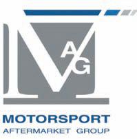 mag motorsport aftermarket group logo